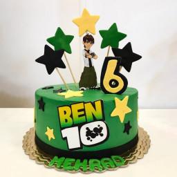 Star Ben 10 Cake