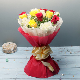 12 mix roses