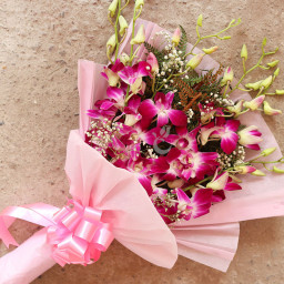 6 Orchids Bouquet