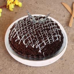 Half kg Choco chips cake