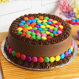 Choco-Gems Cake