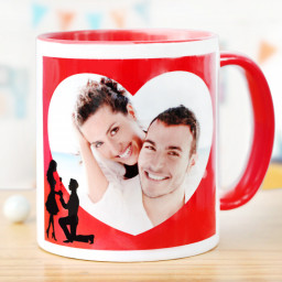 Valentine Photo Mug
